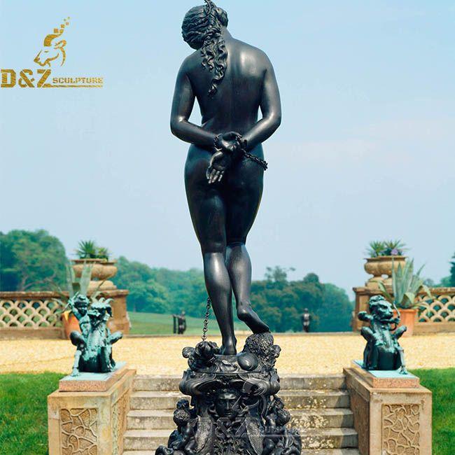 andromeda mythology statue