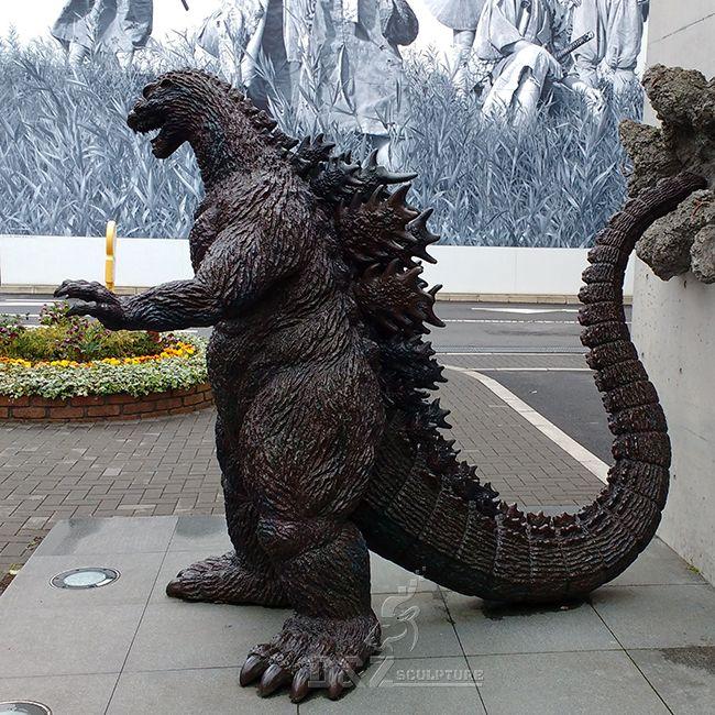 large godzilla statue for sale