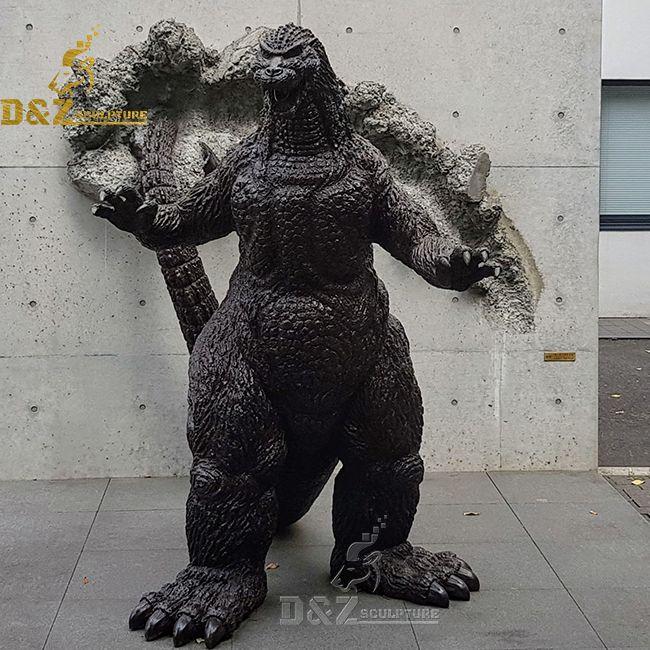 japan shin godzilla statue
